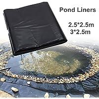 KINGSO lona para estanques de jardín, revestimiento cubierta para estanque exterior, 3mX2.5m