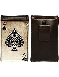 Nutcase Designer Travel Waist Mobile Pouch Bag For Men, Fanny Pack With Belt Loop & Neck Strap-High Quality PU... - B075N1KKP5