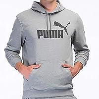 Puma Erkek Sweatshirt'ler ESS Hoody TR Big Logo Medium Gray Heathe