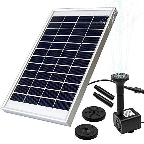 No almacena energía.  Necesita luz solar directa directamente sobre él, el panel solar es fácil de mover, por lo que debe modificar el ángulo cada hora para lograrlo, entonces es muy bueno.  La cantidad de agua bombeada depende de la intensidad de la...