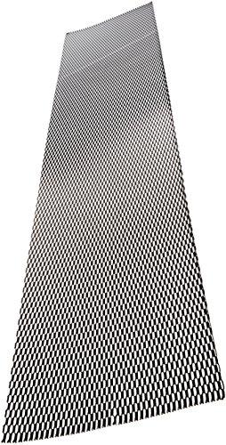 Autostyle tg1256z Renngitter, schwarz, 125x 25cm/Honeycomb 12x 6mm