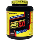 MuscleBlaze Mass Gainer XXL - 3 Kg (Chocolate) With Free Creatine - 100 G