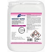 Preisvergleich für 10 Liter Medizid Rapid - 2 x 5 Liter Kanister - Sprühdesinfektion - aldehydfrei - Desinfektionsmittel