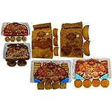 T T Suji Masala Cookies, Suji Elaichi Cookies, Nan Khatai Cookies, Badam Pista Cookies, Suji Rusk, Milk Rusk (Pack Of 6)-4 Pack Of 350 Gram, 1 Pack Of 200 Gram & 1 Pack Of 275 Gram