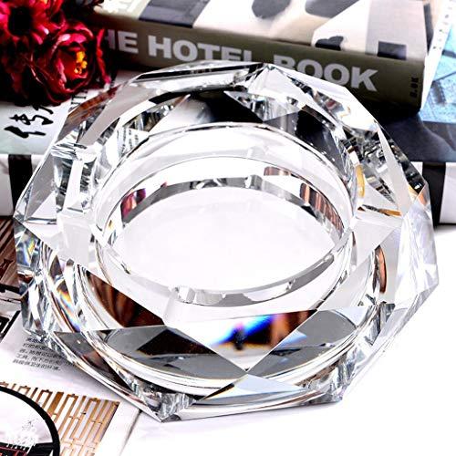 Yhg2019 Crystal Aschenbecher Mode Ideen personalisierte Geschenke europäischen Stil (Color : C, Size : 12cm) -