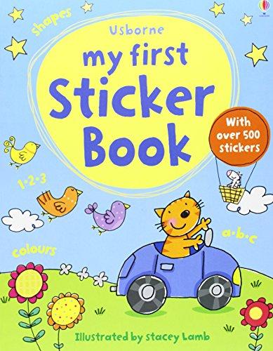 My First Sticker Book (Usborne First Sticker Books)