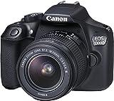 Canon EOS 1300D Digitale Spiegelreflexkamera (18 Megapixel, 7,6 cm (3 Zoll), APS-C CMOS-Sensor, WLAN mit NFC, Full-HD ) Kit inkl. EF-S 18-55 mm und EF 50 mm STM Objektiv schwarz - 11