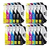 Abcs Printing compatible 16XL Cartouches d'encre de remplacement pour imprimante Epson WorkForce WF-2750DWF WF-2530 WF-2510 WF-2760DWF WF-2010 W WF-2540WF WF-2520NF