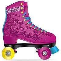 Fila Skates Juliet, Pattini A Rotelle Donna, Rosa/Azzurro, 32