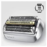 Braun Series 9 92S Elektrischer Rasierer Scherkopfkassette - Silber