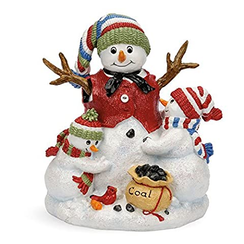 Making Friends Snowman Collection, Musical Figurine by Fitz and Floyd