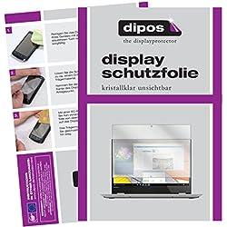 dipos I 2X Protection ecrán Compatible avec Lenovo Yoga 520 Films de Protection d'écran Transparent