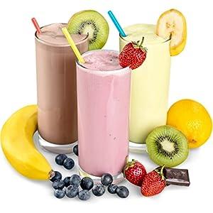 Vanille Geschmack Slim Diätdrink Pulver mit L-Carnitin auch als Mahlzeitersatz Diät Shake zum Abnehmen