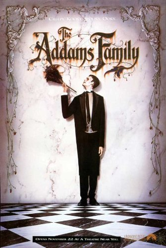 The Addams Family Plakat Movie Poster (27 x 40 Inches - 69cm x 102cm) (1991) C