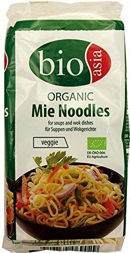 BIOASIA Bio Mie Nudel ohne Ei, 8er Pack (8 x 250 g)