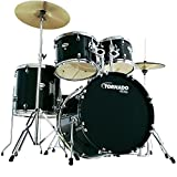 MAPEX TORNADO M5044TC DRUM SET SCHWARZ