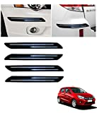 #2: Autowheel Car Bumper Protector with Double Chrome Strip- Maruti Celerio