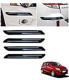 #6: Autowheel Car Bumper Protector with Double Chrome Strip- Maruti Celerio
