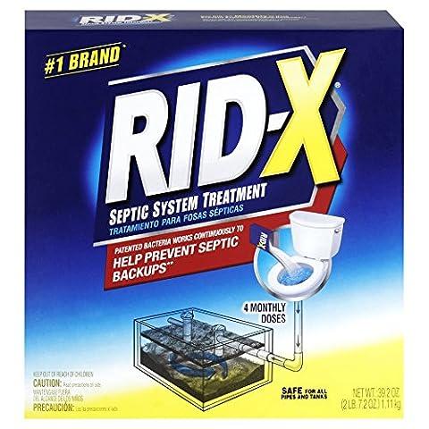 WMU Rid-X Septic System Treatment 39.2oz Box