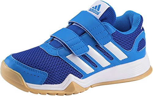 adidas Intersport Cpd Interplay Cf K Ftwwht/blubea/gum3, Größe adidas:28