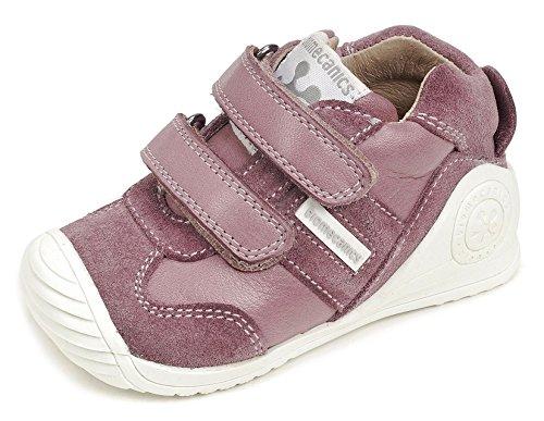 Biomecanics Malva 171151 Zapatillas para Bebés, Rosa (Malva / Sauvage / Serraje), 20 EU