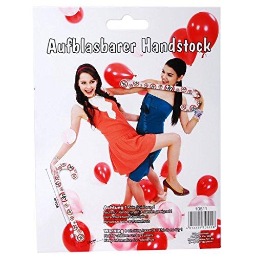 1 AUFBLASBARER HANDSTOCK PARTY GAG 30. GEHSTOCK 30. GEBURTSTAG - Aufblasbare Spazierstock