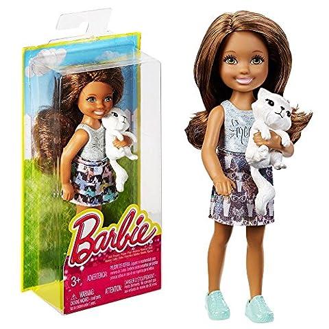 Barbie - Familie Puppe Chelsea und Freunde - Katzen-Spaß mit Tamika