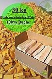 30 kg LEGNA DA ARDERE CAMINO LEGNA DA ARDERE 100% FAGGIO forno-pronto kammergetrocknet 25cm