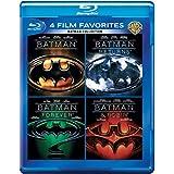Batman Anthology: 4 Movies Collection - Batman (1989) + Batman Returns + Batman Forever + Batman & Robin