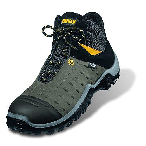 Uvex Sicherheitsschuhe Athletic Pro Stiefel 9458 S2 43 Grau