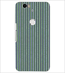 PrintDhaba Pattern D-5185 Back Case Cover for HUAWEI NEXUS 6P (Multi-Coloured)