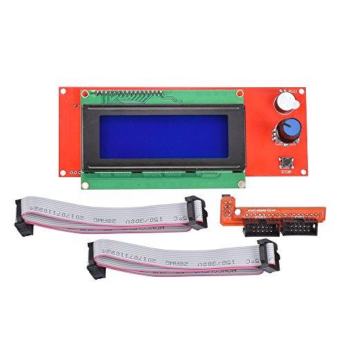 KINGPRINT LCD 2004 Grafik-Controller-Modul mit Adapter und Kabel für 3D-Drucker