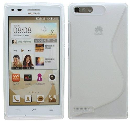 S-Line TPU SchutzHülle für Huawei Ascend P7 Mini Silikon Hülle in Transparent @ Energmix