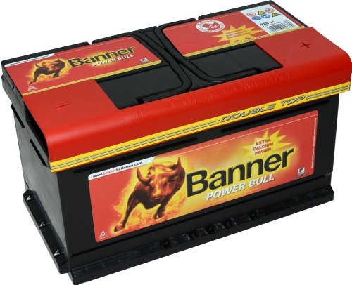 Preisvergleich Produktbild Banner P8014Power Bull Batterie 110 Calciumtechnologie, Auslaufschutz und Rückzündsicherheit