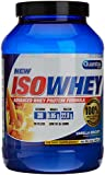Quamtrax Nutrition Suplemento para Deportistas Isowhey, Sabor Vanilla Biscuit - 907 gr