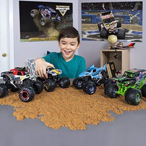 Monster Jam - 6044869- Collector Die-cast Trucks - - - Véhicule échelle 1:24 - Jeu enfant - Modèle aléatoire 7b9dc7