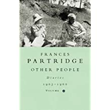 Other People: Diaries, 1963-66: 4 by Frances Partridge (1999-04-01)