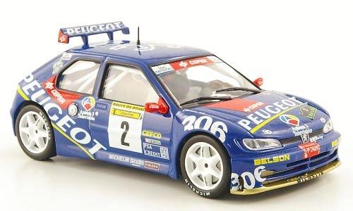 peugeot-306-maxi-no2-rally-de-aviles-1997-modellauto-fertigmodell-mcw-sc44-143
