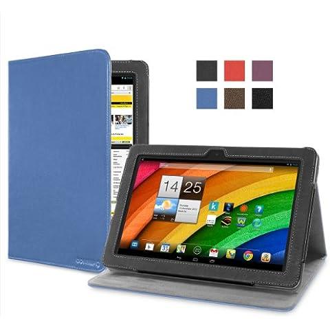 Cover-Up - Funda para Acer Iconia A3 / A3-A10 (10,1-pulgadas) Tableta (Versión con Soporte) - Color Azul