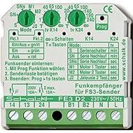 Schalk - Interruttore radioricevitore FE3 D2, 4046929101363
