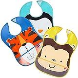 Best Nuby Toddlers Giocattoli - Nuby UK Catch all bavaglini, disegni assortiti, confezione Review