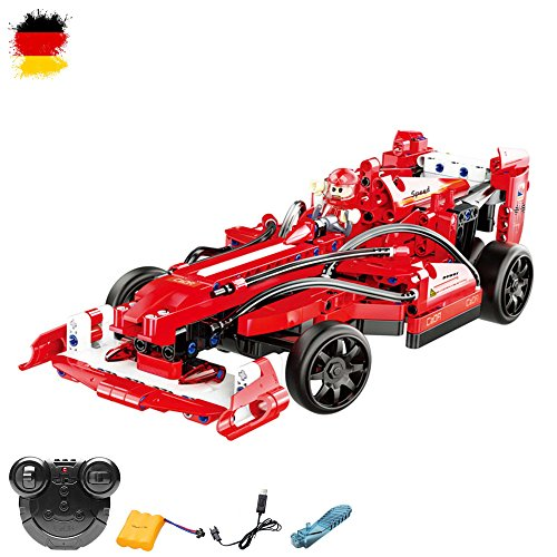 ferngesteuertes formel 1 auto 2.4GHz RC ferngesteuertes Steckbausatz DIY Formel 1 F1 Auto Car, Fahrzeug, Auto, Car, Komplett-Set