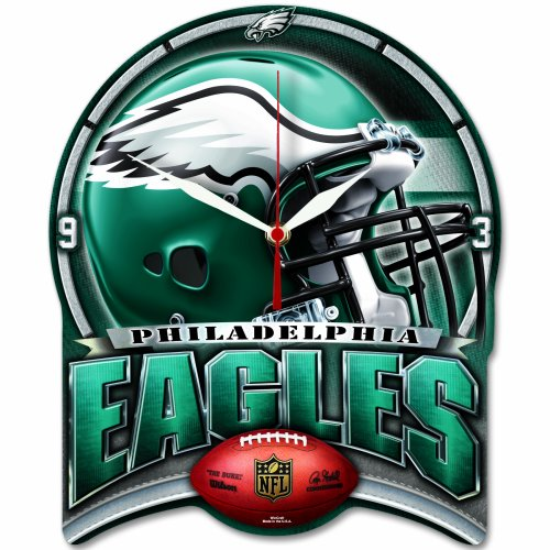 NFL High Def. Wanduhr Philadelphia Eagles