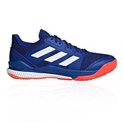 adidas Herren Stabil Bounce Handballschuhe, Mehrfarbig (Tinmis/Ftwbla/Rojsol 000), 44 2/3 EU