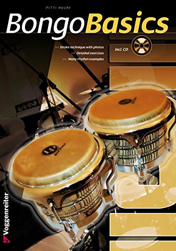 BONGO BASICS (English Edition): Stroke technique with photos and detailed exercises (Voggenreiter Verlag)