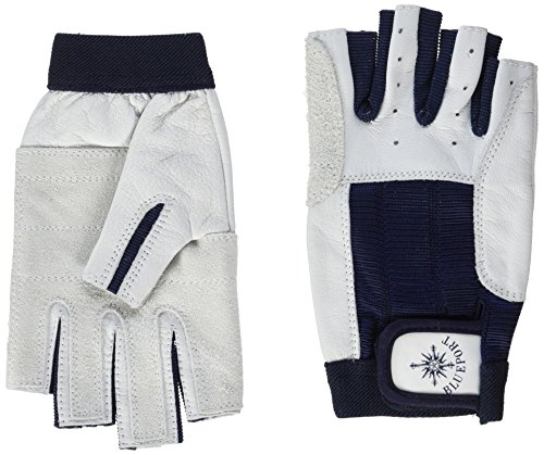 Blueport Halbfinger-Segelhandschuhe aus Leder: Material + Erfahrungen