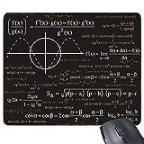 Yanteng Curva Gráficos Matemáticas Ciencia Fórmula Cálculos Rectángulo Antideslizante Caucho Alfombrilla