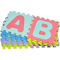 TOYMYTOY Foam Puzzle Play Mat Alphabet Floor Mat Interlocking Baby Foam Mat Jigsaw Exercise Mat 26pcs