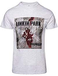 Linkin Park Patches Camiseta Gris/Melé iWS6F