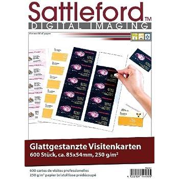 Sattleford Visitenkartenpapier 1 000 Visitenkarten